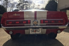 1967 Mustang Shelby Clone | Rear View