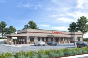 Tony Roma's New Restaurant Design